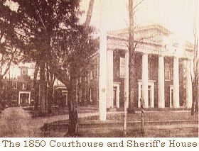 Courthouse in 1850